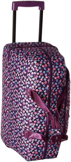 online shopping for Vera Bradley Luggage Wheeled Carry-On from top store.  See new offer for Vera Bradley Luggage Wheeled Carry-On. Travel Bags 1c1d403734
