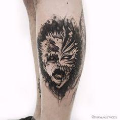 Tattoo Designs, Sketch Tattoo Design, Tattoo Sketches, Naruto Tattoo, Wrist Tattoos For Guys, Tattoos For Women, Tatuagem One Piece, Tatuaje Trash Polka, Bleach Tattoo