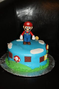 Super Mario Cake- twins birthday?