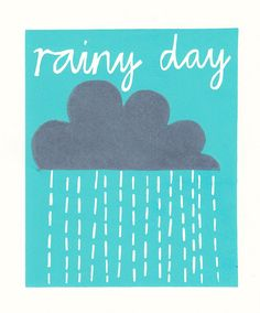 Rainy day | Ruby and the paper parade