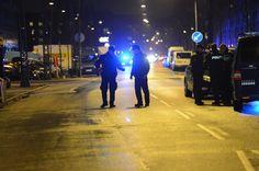 SKYDERI. 19-årig mand, der i går blev ramt af skud i hovedet på Lundtoftegade, er tilknyttet bande på Nørrebro. - Foto: KENNETH MEYER