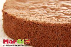 Ricetta pan di spagna al cacao (Sponge cake with cocoa)