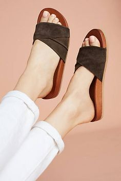 Fall Boots, Flats & New Women's Shoes Mules Shoes, Women's Shoes Sandals, Sock Shoes, Shoe Boots, Cute Sandals, Trendy Shoes, New Shoes, Designer Shoes, Me Too Shoes