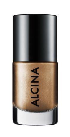 Alcina Ultimate Nail Colour gold 120.