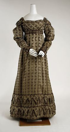 1819-22 Silk Dress