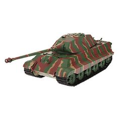 Heng Long 1:16 Remote Control Tank Tiger German Heavy King 1 Wwii 35 Turret B