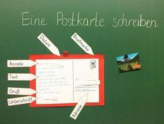 Write a postcard ✉️ We have the most beautiful holiday experience as Schre . Primary School Teacher, Primary Education, Continuing Education, Elementary Education, Classroom Organisation, Classroom Management, Languages Online, Grande Section, Ways Of Learning