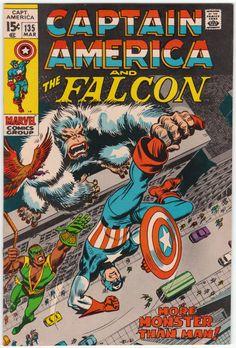 Captain America #135 VF/NM, Gene Colan artwork, Nick Fury & SHIELD guest, John Romita cover art. $29.75