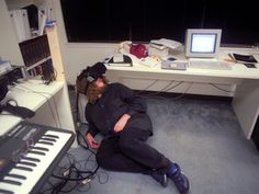 "The History and Future of VR | Jaron Lanier, who coined the term ""virtual reality,"" explores a virtual world using a headset that looks a lot like those available today. 