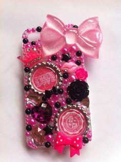 Victorias Secret PINK iphone 4/4g/4s bling case by sparklingskye, $35.00