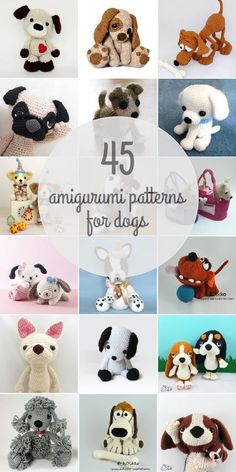 Dogs Amigurumi Patterns