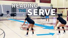 One way Bishop's High School coach Tod Mattox determines whether his passers are detecting the serve early enough is watching how they react to a ball served into the net. He explains here, then se… Volleyball Warm Ups, Volleyball Rules, Volleyball Serve, Volleyball Skills, Volleyball Practice, Volleyball Workouts, Coaching Volleyball, Libero Volleyball, Volleyball Team Shirts
