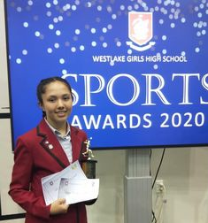 Congratulations Lucy on your awards at the Westlake Girls High School Sports Awards! Keep up the awesome work. - #squash #doubledotsquash #squashawards #squashauckland #squashnz #nzsquash #westlakegirls Westlake Girls, Train Group, Double Dot, Sports Awards, Red Beach, Ways Of Learning, School Sports, West Lake, Best Player