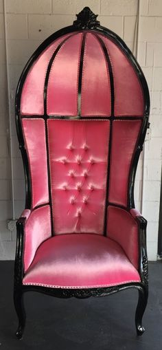 Chair King Umbrellas High Covers Target Pink Hollywood Regency Porters Umbrella Dome Canopy Black Xl Tall Gothic Throne