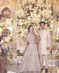 Asian Wedding Dress, Pakistani Wedding Outfits, Pakistani Dresses, Indian Bride And Groom, Bride Groom Dress, Pakistan Bride, Walima Dress, Indian Bridal, Bridal Collection