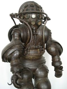 Carmagnolle Diving Suit, 1882 Retronaut | Retronaut - See the past like you wouldn't believe.
