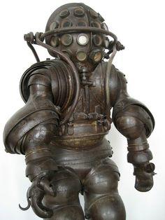 Carmagnolle Diving Suit, 1882.