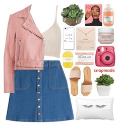 """""""FLEUR"""" by jess-innes ❤ liked on Polyvore featuring HUGO, WithChic, Hinge, Pelle, Fig+Yarrow, Fujifilm, Sisley, Dogeared, Dunn and Davines"""