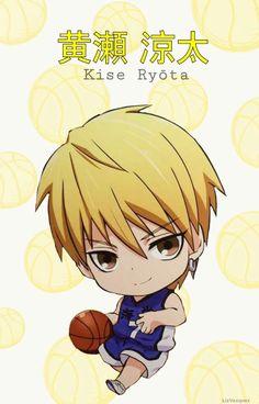 {Kuroko no Basket} Kise Ryouta, Chibi, Kaijo Uniform