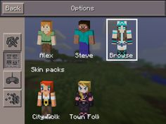 Nice you get change skins now  on mincraft pe