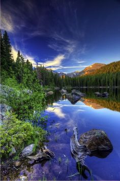Bear Lake , Rocky Mountain National Park , Colorado, USA