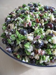 A Collection of Easy and Tasty Recipes: Broccoli Salad (Similar to Claim Jumper's)