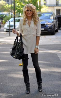love this white shirt with detail