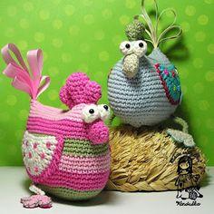 crochet bird pattern, crochet easter, crochet Vendulka, crochet chicken pattern, crochet easter decoration