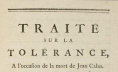 Read a chapter of Voltaire's 'Traité sur la tolérance,' written in 1763 but newly popular after the 2015 Charlie Hebdo attack.  http://www.lawlessfrench.com/reading/traite-sur-la-tolerance/