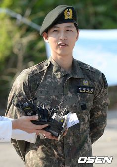 Welcome back, Song Joong Ki!