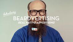 Beardvertising  Finally You Can Make Some Cash From Your Facial Fungus  Lazer Horse