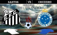 Santos FC vs Cruzeiro 31.07.2016 Free Soccer Predictions, head to head, preview, predictions score, predictions under/over Brazil: SERIE A