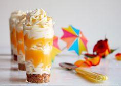 Copinhos de Cheesecake com Lemon Curd