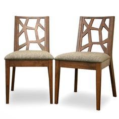Wholesale Interiors - Baxton Studio Jenifer Modern Dining Chair (Set of - Jenifer Dining Dining Chair Set, Dining Room Chairs, Dining Room Furniture, Side Chairs, Wood Chairs, Kitchen Chairs, Dining Rooms, Furniture Design, Dining Table