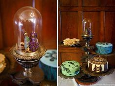 Image result for steampunk wedding cake