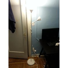 Sonneman lina floor lamp with off white linen shade you light up buy second hand floor lamps at up to off aloadofball Image collections