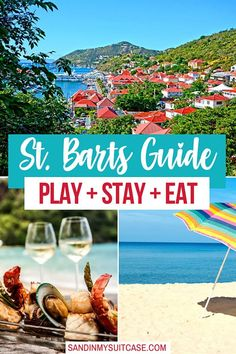See our indepth St. Barts travel guide for the best hotels in St. Barts, best St. Barths restaurants and fun things to do in St. Barts! It's the swankiest Caribbean island for a luxury Caribbean holiday! Us Travel, Travel Guide, Play And Stay, St Barths, Secluded Beach, Hotel S, Beach Club, Best Hotels, Travel Photos