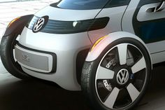 Одноместный электрический автомобиль Volkswagen Nils #innovatrendy #innovation