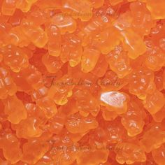 Orange you excited about these? But in all seriousness, these pint sized, orange Gummi Bears are packed with crisp citrus flavor that will have you smacking your lips with every chew. Rainbow Aesthetic, Orange Aesthetic, Aesthetic Colors, Aesthetic Grunge, Pink Lila, Orange Candy, Orange Wallpaper, Orange You Glad, Orange Walls