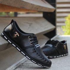 New Fashion Casual Leather Shoes – SA boutique Shop