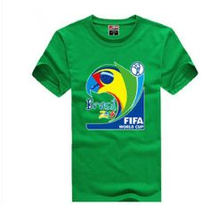 2014 Brazil FIFA World Cup Soccer Football Fans Men Women Short Sleeve T-Shirt Large,Green Fancy Dress Store $15.99  http://www.amazon.com/dp/B00J02BNWS/ref=cm_sw_r_pi_dp_56LNtb16S172KVCY bookmark us at www.webshoppingmasters.com/salter3811