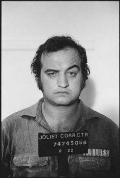"John Belushi mug shots for ""The Blues Brothers"", Mary Ellen Mark 1979"