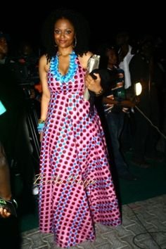 Maxi dress afroethnic prints