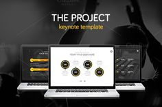 Check out THE PROJECT - Keynote Template by Slidehack on Creative Market