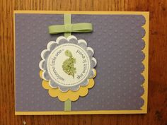 Stampin Up card by Patti Rod