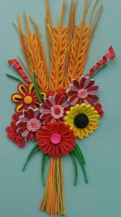 My Quilling Wheat Grain