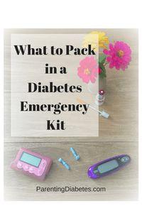 estuche de suministro de diabetes pack-it