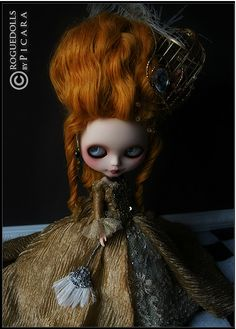 Baroque Decadence III ooak custom blythe doll picara japan