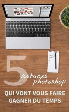 5 astuces photoshop qui vont vous faire gagner du temps | Découvrez 5 astuces photoshop que toute scrappeuse devrait connaître pour gagner du temps lors de la création de ses pages de digiscrap | www.paperns.com