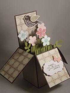 Card in a box... Love it!